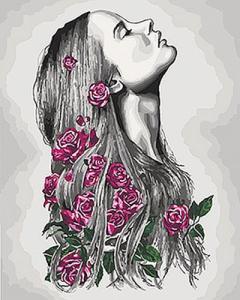 Картины по номерам Расцветаю
