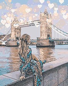 Картины по номерам Романтичный Лондон