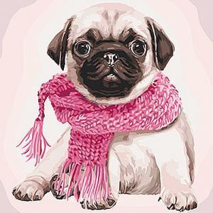 Картины по номерам Розовое настроение