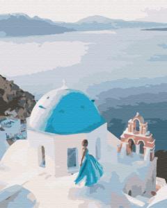 Картины по номерам На крыше Греции