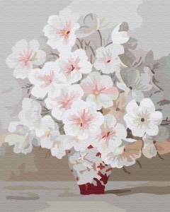 Картины по номерам Весеннее цветение