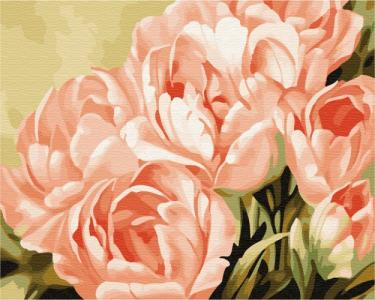 Картины по номерам Розовые розы