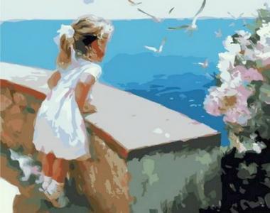 Картины по номерам Ласковое море