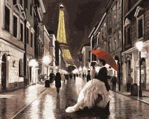Картины по номерам Вишуканий Париж