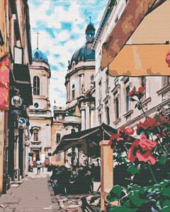 Картины по номерам Львовская улочка