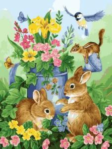 Картины по номерам Волшебный сад