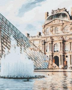 Картины по номерам Лувр