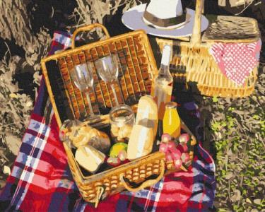 Картины по номерам Набор для пикника