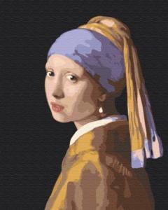 Картины по номерам Девушка с жемчужной серёжкой. Ян Вермеер