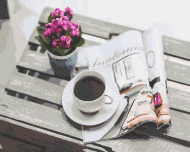 Картины по номерам Уединенный завтрак