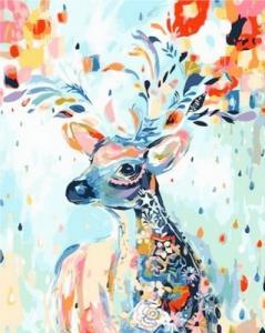 Картины по номерам Сказочный олень