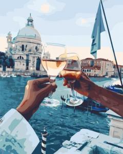 Картины по номерам  Романтика Венеции