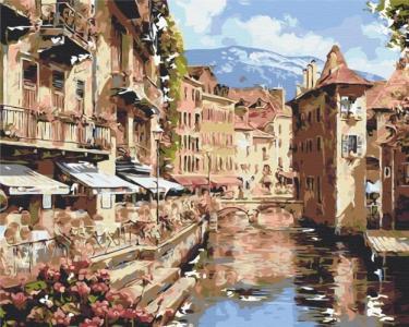 Картины по номерам Австрийський городок