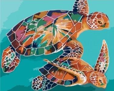 Картины по номерам Черепахи