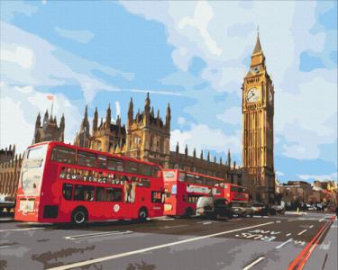 Картины по номерам Магия Лондона