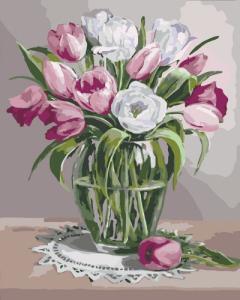 Картины по номерам Весенний аромат