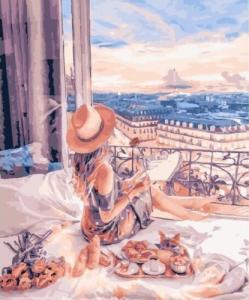 Картины по номерам Лучший закат в её жизни