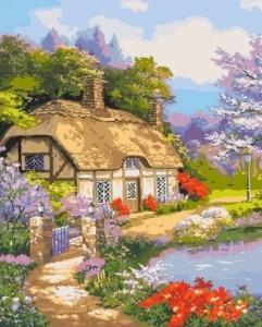 Картины по номерам Загородный дом