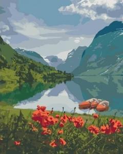 Картины по номерам Красота Норвегии