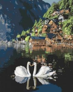 Картины по номерам Романтическая Австрия