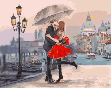 Картины по номерам Пара в Венеции