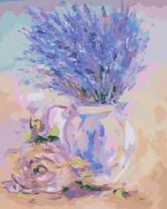 Картины по номерам Нежная лаванда
