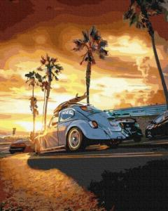 Картины по номерам Калифорния