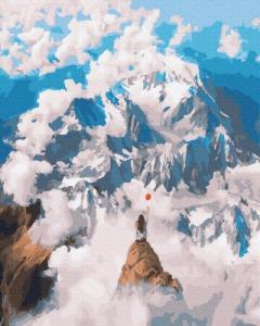 Картины по номерам На вершине мира