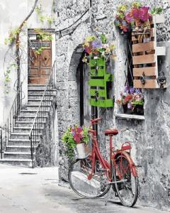 Картины по номерам Цветочная улочка
