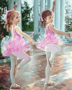 Картины по номерам Маленькие балерины