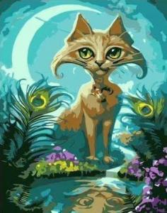 Картины по номерам Сказочный кот