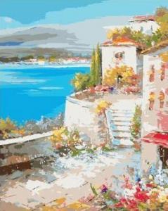 Картины по номерам Акварельный пейзаж
