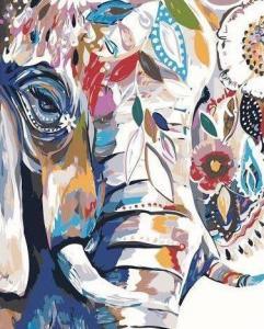 Картины по номерам Абстрактный слон