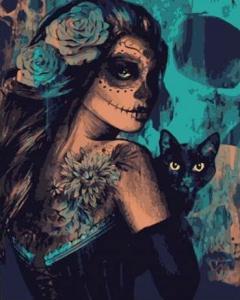 Картины по номерам Таинственная ведьма