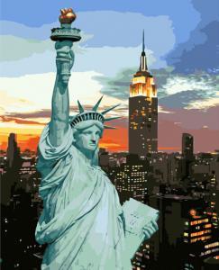 Картины по номерам Статуя Свободы