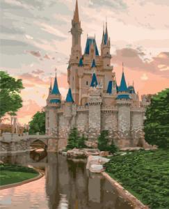 Картины по номерам Загадочный замок