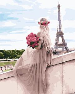 Картины по номерам Парижская мечта