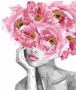 Картины по номерам Цветущая красота