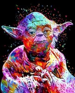 Картины по номерам Звездные войны Мастер Йода