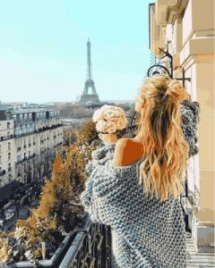 Картины по номерам Парижский балкон