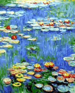 Картины по номерам Водяные лилии Клод Моне