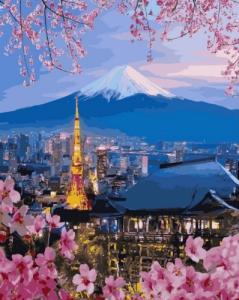 Картины по номерам Путешествие по Японии