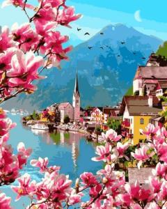 Картины по номерам Цветение в Гельштате