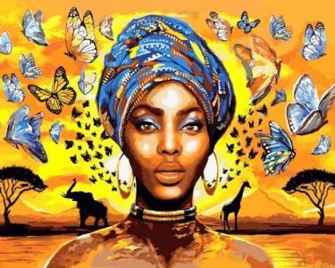 Картины по номерам Восхитительная женщина