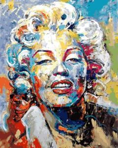 Картины по номерам Красочная Мэрилин Монро