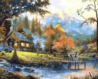 Картины по номерам Загородная жизнь