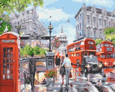 Картины по номерам Лето в Лондоне