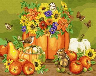 Картины по номерам Осенний натюрморт