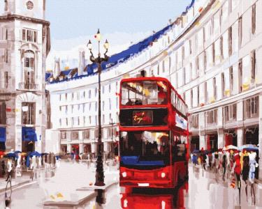 Картины по номерам Лондонский маршрут