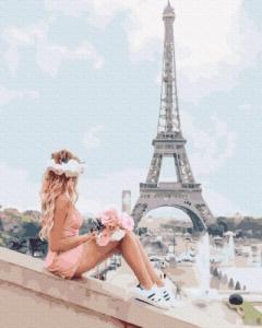 Картины по номерам Летом в Париже